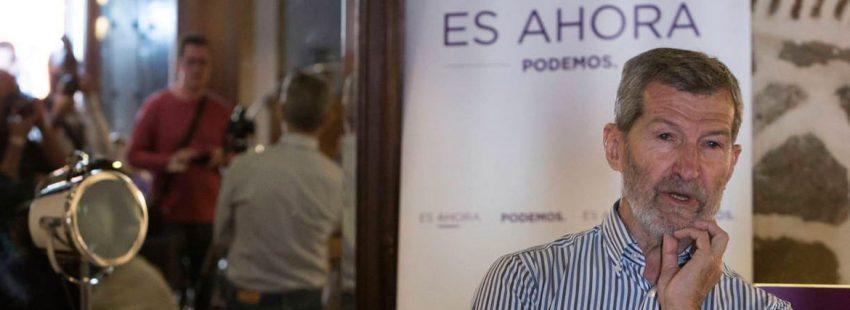 Julio Rodríguez, secretario general de Podemos en Madrid