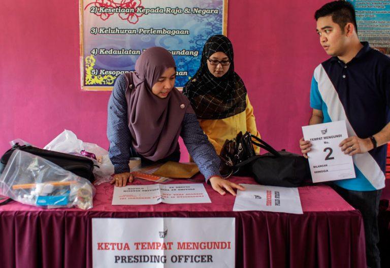 El 9 de mayo de 2018 se celebran las elecciones nacionales en Malasia