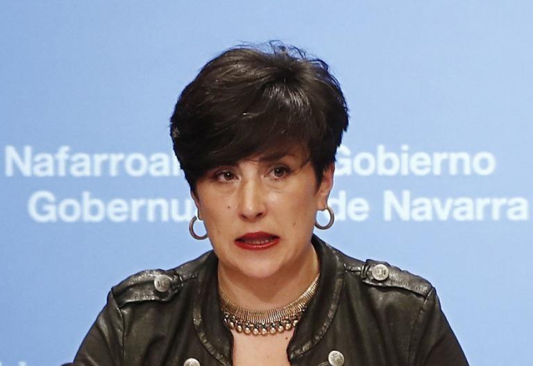 María Solana, Consejera de Educación del Gobierno Foral de Navarra