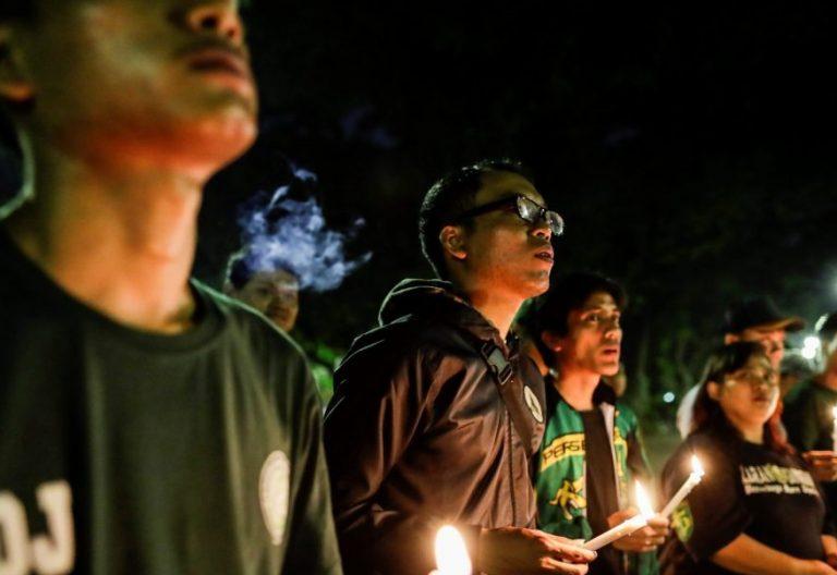 Vigilia de oración por las víctimas del atentado de Indonesia de 2018