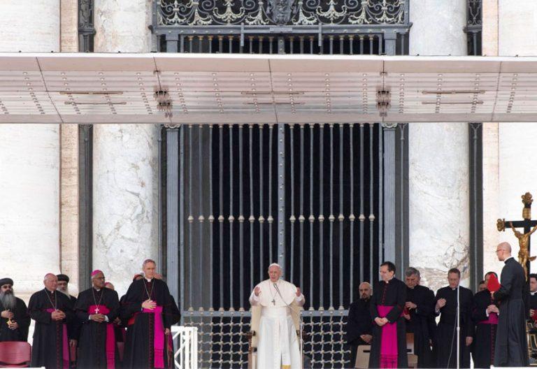 Audiencia general del papa Francisco 9 de mayo de 2018