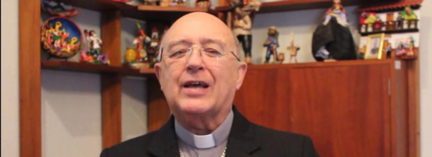 El cardenal Pedro Barreto, obispo de Huancayo