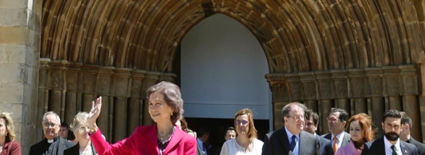 La Reina Sofía inaugura Mons Dei, de las Edades del Hombre