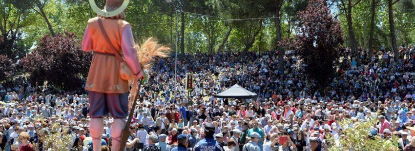 La Pradera de San Isidro, durante la fiesta del patrón de Madrid