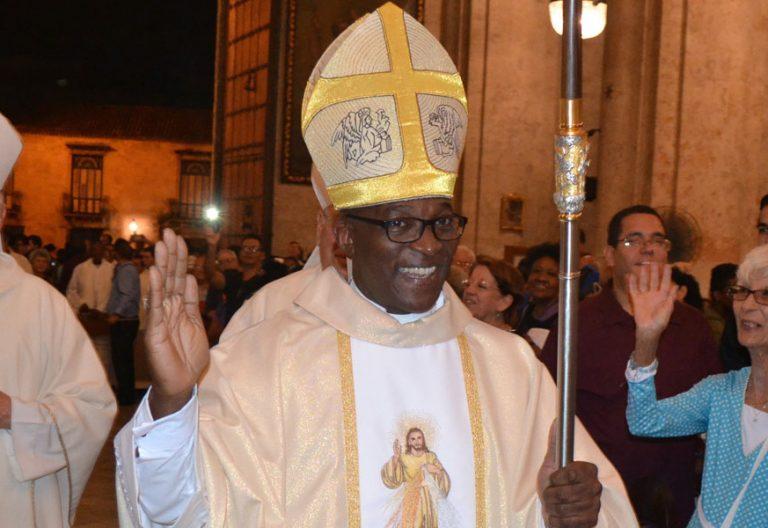 Silvano Pedroso Montalvo, obispo de Guantánamo Baracoa (Cuba)