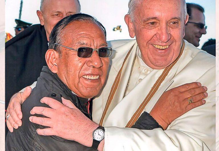 El nuevo cardenal creado por Francisco Toribio Ticona Porco