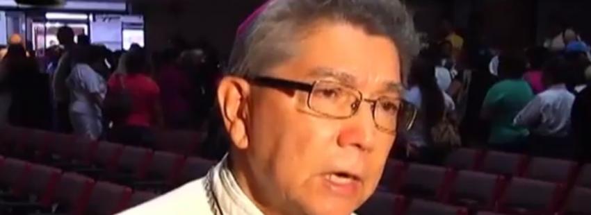 El obispo de venezuela Ubaldo Santana
