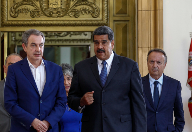 El expresidente José Luis Rodríguez Zapatero actuó de observador internacional en las eleccionesvenezolanas