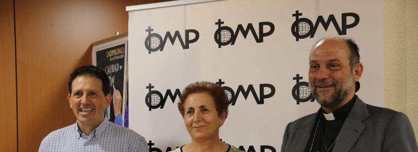 Joan Soler Josefa Ledo y José María Calderón presentan en Madrid la Memoria Anual de Actividades de la OMP