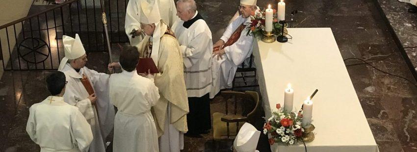 Ordenación episcopal de Aquilino Bocos