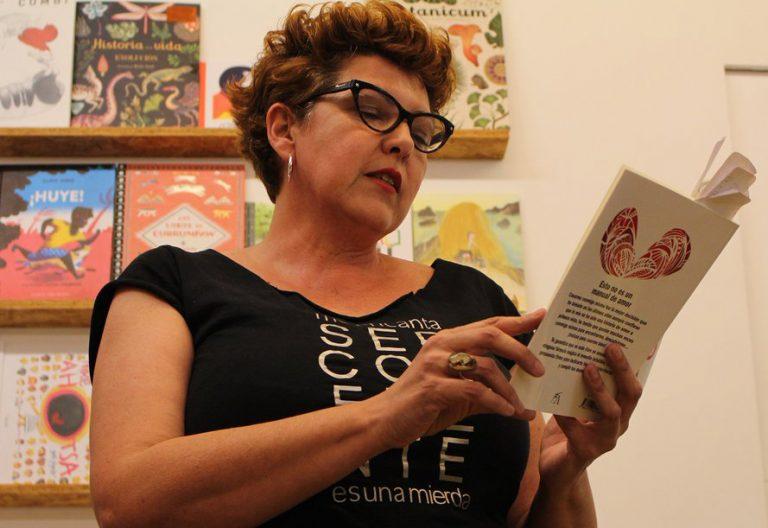 La escritora May Serrano