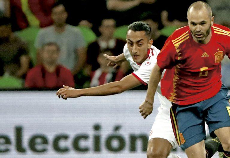 Andrés Iniesta, jugador de la Selección Española de Fútbol