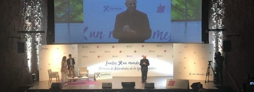 Ricardo Blázquez, en la presentación de la Memoria de Actividades de la Iglesia
