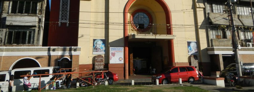 Una iglesia de Filipinas