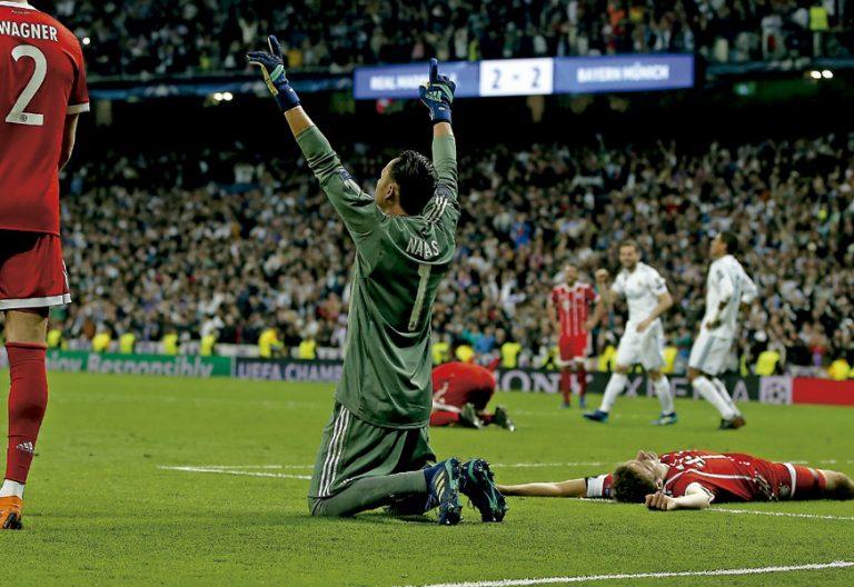 Keylor Navas, portero de la Selección de Costa Rica y del Real Madrid