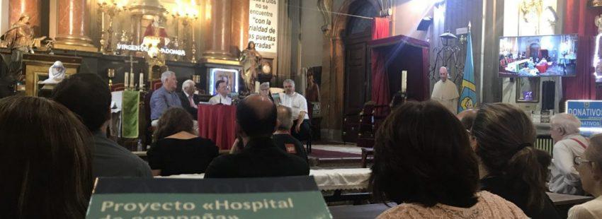 """La iglesia de San Antón acoge la presentación de """"Proyecto Hospital de campaña"""" (PPC)"""