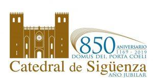 Logotipo del año jubilar con motivo del 850º aniversario de la consagración de la catedral de Sigüenza
