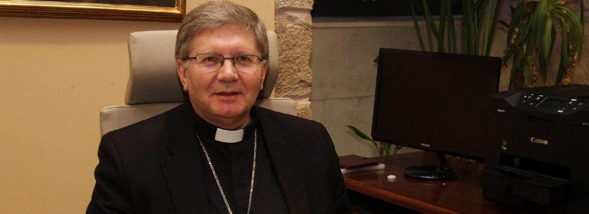 Juan Antonio Menéndez, obispo de Astorga