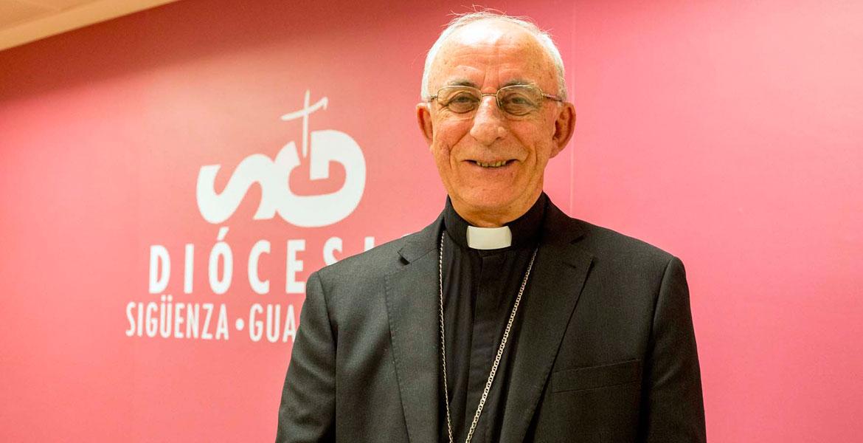 El obispo de Sigüenza-Guadalajara, Atilano Rodríguez