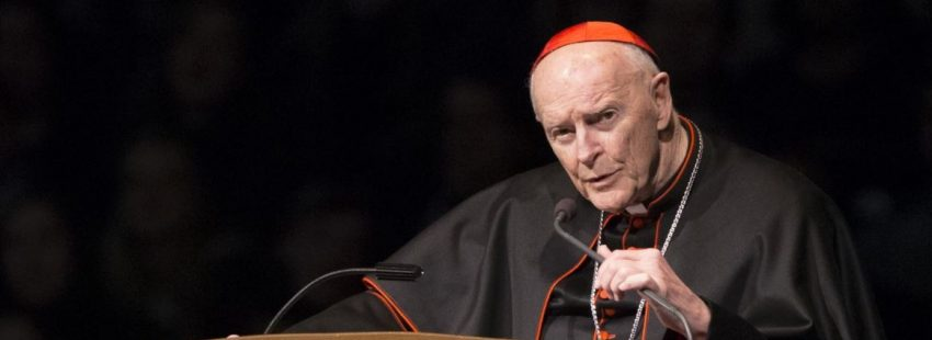 Cardenal Th. McCarrick, arzobispo emérito de Washington