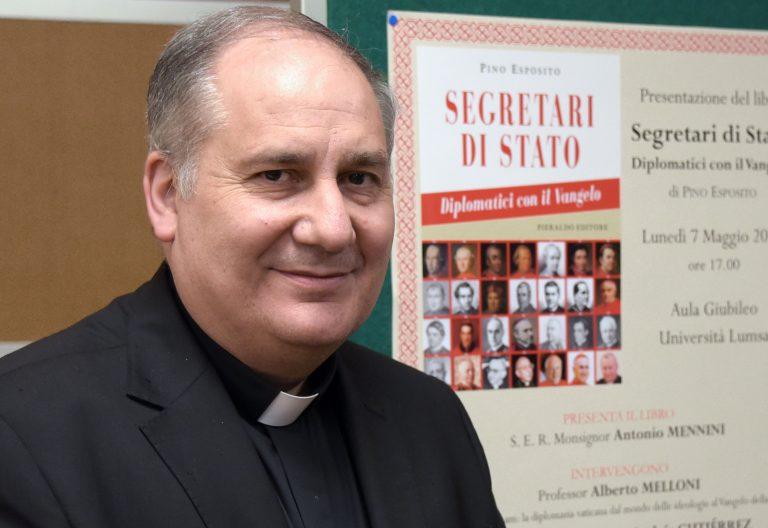 El catedrático de Historia de la Iglesia Pino Esposito
