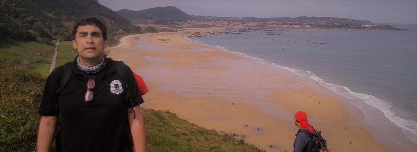 Txema Logroño, autor de '110 destinos en España con la gracia de Dios'