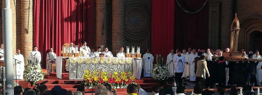 El cardenal Filoni abre el Congreso Misionero de Bolivia