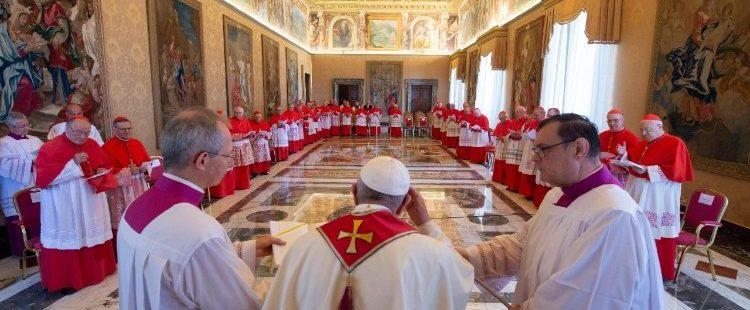 El Papa preside el Consistorio de Cardenales sobre la canonización del Beato Nunzio Sulprizio