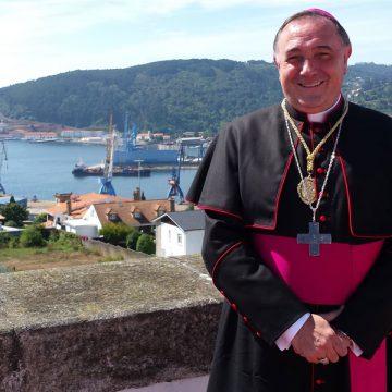Luis Ángel de las Heras, obispo de Mondoñedo-Ferrol