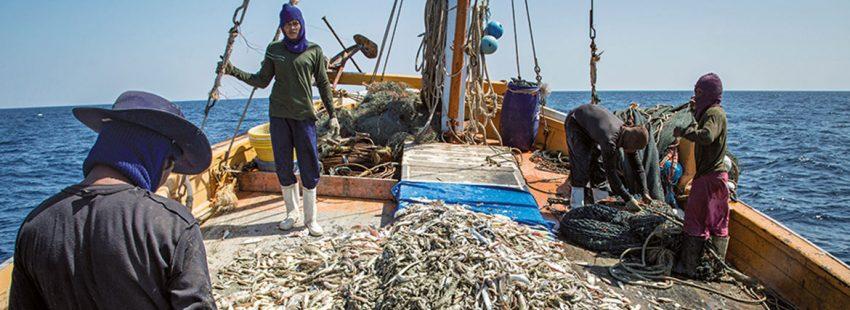Pesca y esclavitud