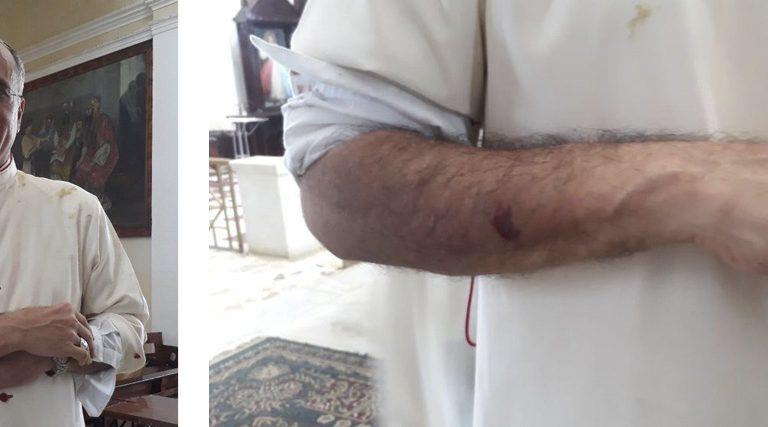 Silvio Báez obispo auxiliar Managua Nicaragua ataque heridas durante un asalto a una iglesia