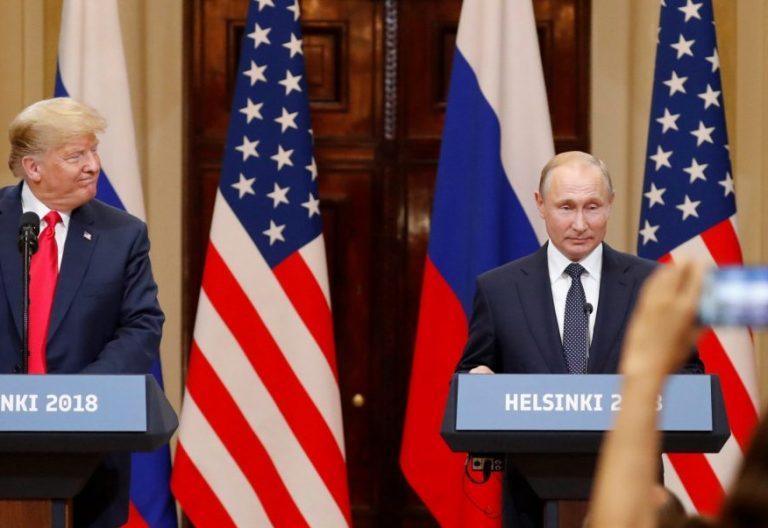 El presidente estadounidense, Donald J. Trump y su homólogo ruso, Vladimir Putin/EFE