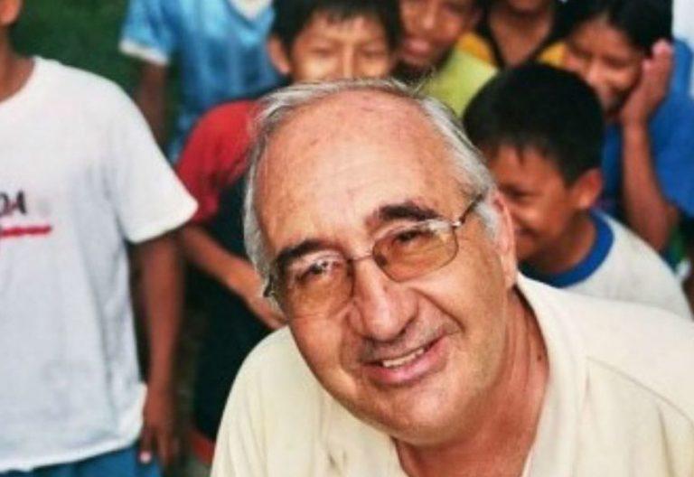 El misionero jesuita Carlos Riudavets