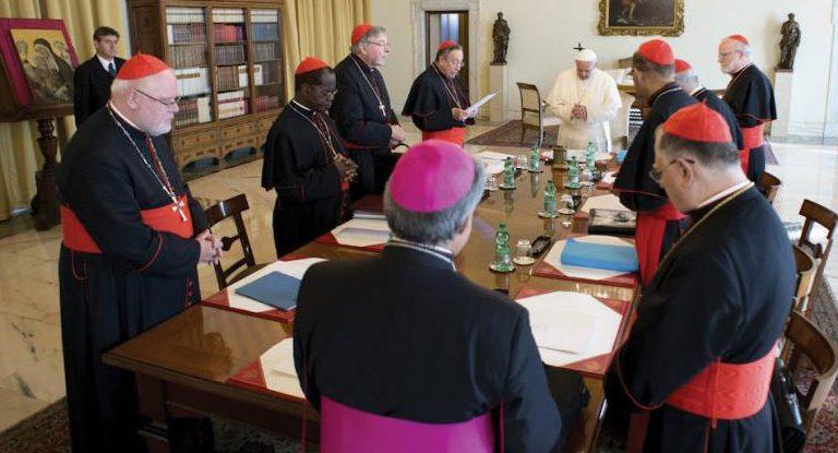 El Papa con el C-9