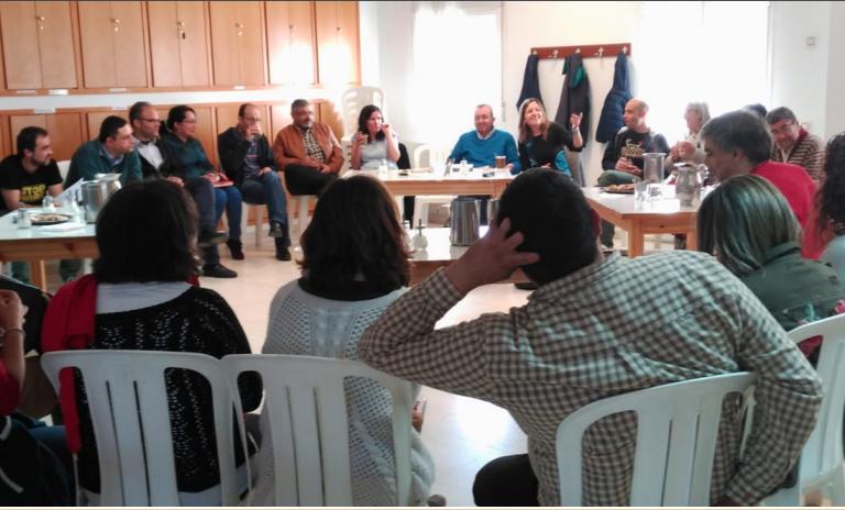 reunion de encuentros y solidaridad