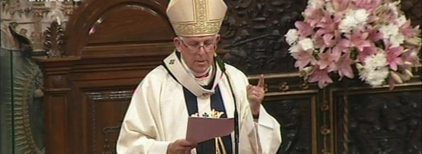 Braulio rodriguez arzobispo de toledo primado de españa el dia de la patrona virgen del sagrario o la asuncion