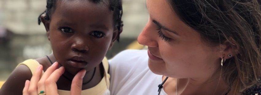 Misionera en Guinea