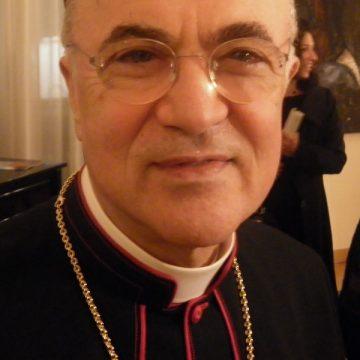 Carlo Maria Viganò, exnuncio de Estados Unidos