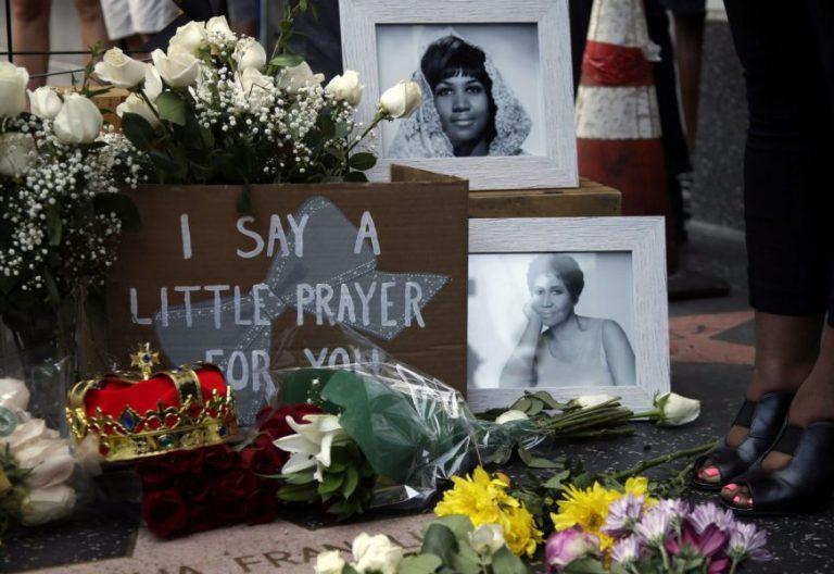 Homenaje a la cantante Aretha Franklin