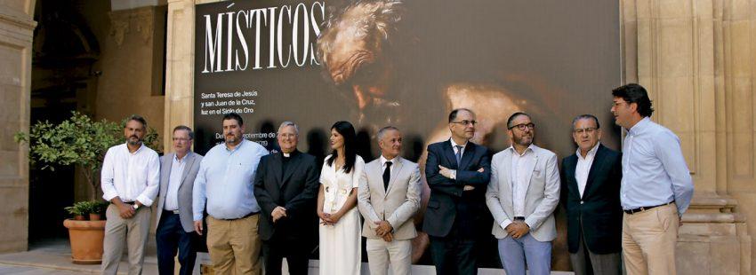 Presentación de la exposición Místicos en Caravaca de la Cruz