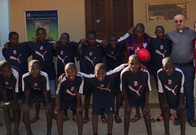 Misionero en Angola