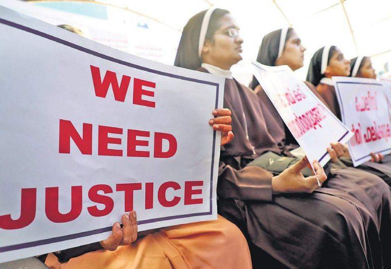 Monjas indias contra el obispo Mulakkal