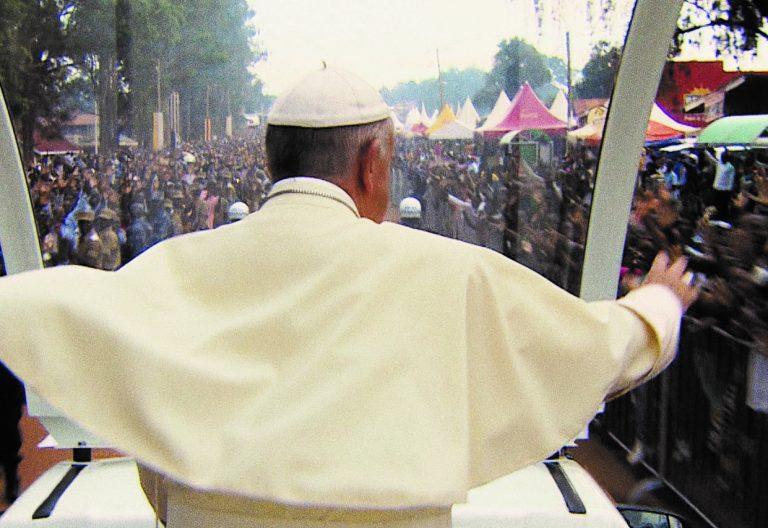 Fotograma del documental 'El papa Francisco: 'Un hombre de palabra'