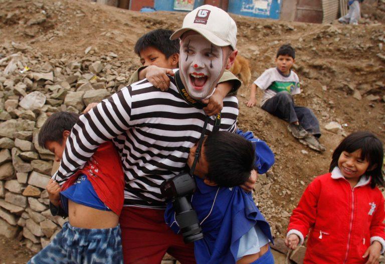 Payasos Sin Fronteras en Perú
