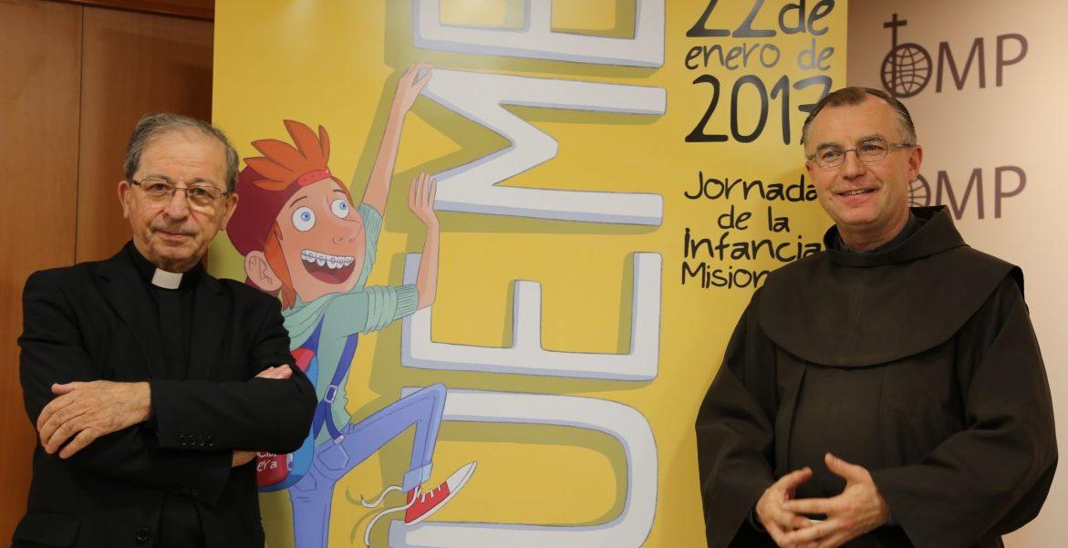 Anastasio Gil presenta la Campaña de la Infancia Misionera 2017