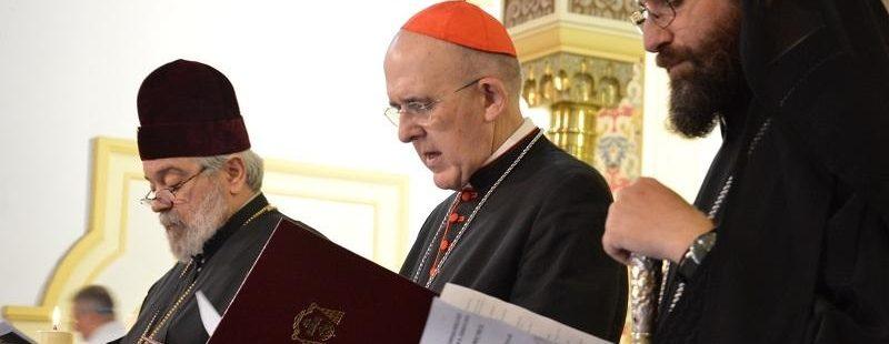 El cardenal Osoro en la plegaria ecuménica por el cuidado de la Creación
