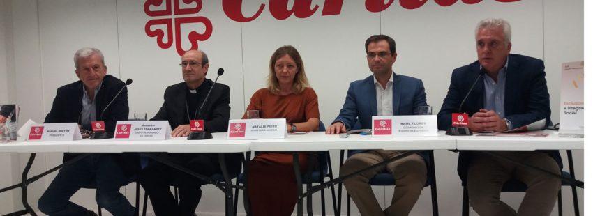 Presentación de la Memoria 2017 de Cáritas en Madrid (26 de septiembre de 2018)