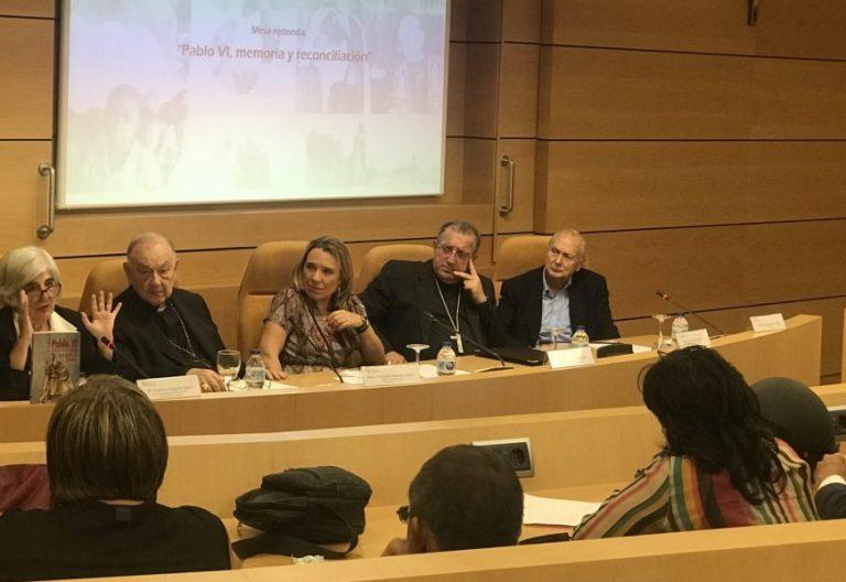 Francisca Sauquillo, Fernando Sebastián, Teresa Compte, Ginés García Beltrán y Juan Mari Laboa