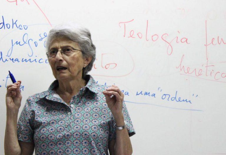 La teóloga Irene Gebara, en una imagen de archivo