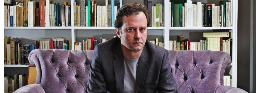 El escritor Marcos Giralt Torrente